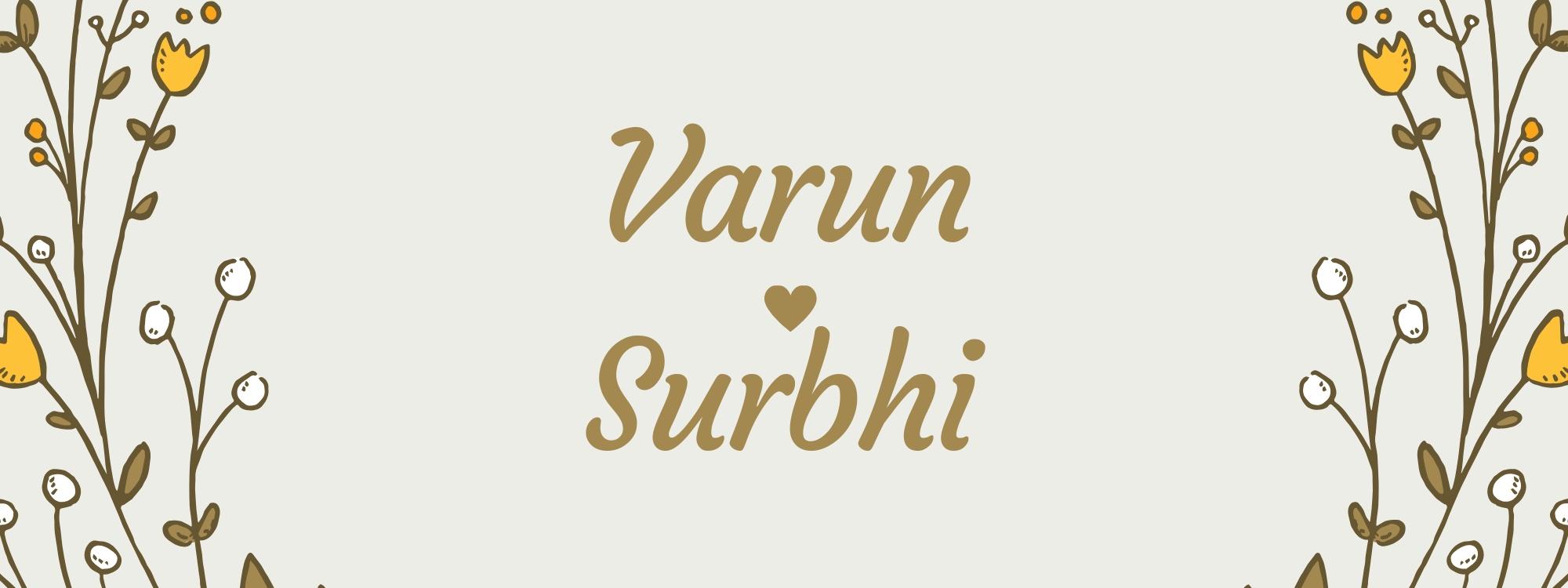 Varun&Surbhi